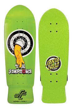 Santa Cruz 10in x 31.4in Simpsons Homer One Deck