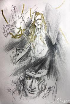 Sauron, captive on Numenor: