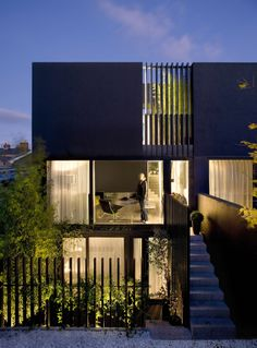 Moire Moire Moire : : 三户连排住宅 / ODOS architects | 60designwebpick