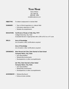 7 best resume template open office images on pinterest free open
