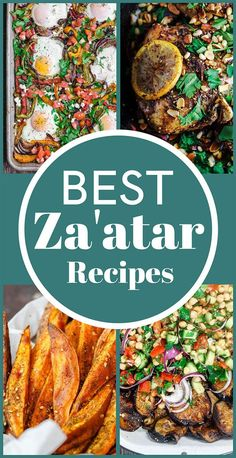 mediterranean recipes Za'atar is one of the world's best seasonings! This aromatic blend of herbs, toasted sesame seeds and spices will transform your cooking. Grab this full guide along with a list of BEST za'atar recipes you can try from Mediterranean Sweet Potatoes, Mediterranean Breakfast, Mediterranean Diet Recipes, Mediterranean Dishes, Healthy Recipes, New Recipes, Dinner Recipes, Cooking Recipes, Cooking Hacks