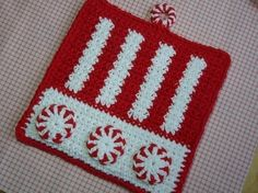New Ideas Crochet Cat Potholder Etsy Potholder Patterns, Crochet Potholders, Crochet Doilies, Crochet Yarn, Crochet Patterns, Irish Crochet, Crochet Ideas, Crochet Ripple Afghan, Crochet Squares
