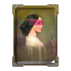IDA-5 Galerie de Portraits tray from ibride will breath personality into any home, traditional portrait painting with a twist. The Ibride range of trays can also be hung on the wall to create quirky wall art! high pressure laminate Meas H65xW47cm £120