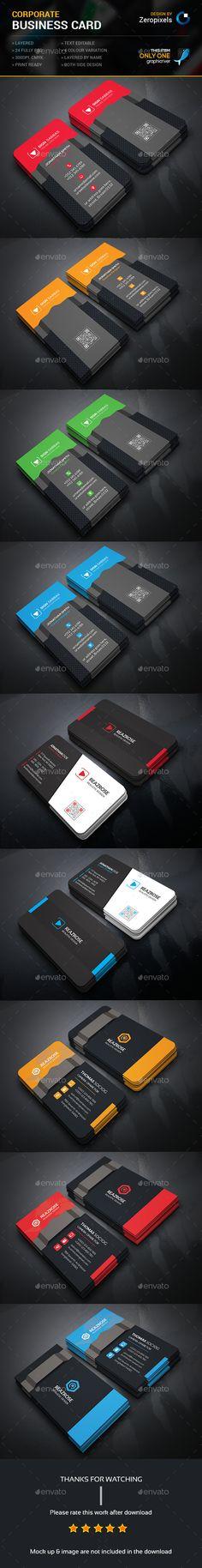 Business Card Bundle Templates PSD. Download here: http://graphicriver.net/item/business-card-bundle/16214186?ref=ksioks