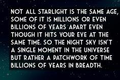 Starry-starry Night ... a symphony of time