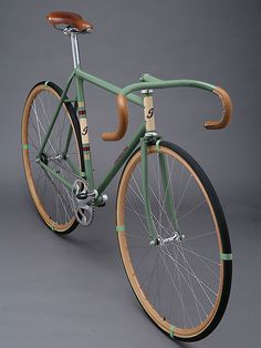 Grass Track Racer by Townsend Cycles gear, wheel, vintage bikes, dream, color, green, old school, retro bikes, vintage bicycles