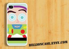 Buzz Lightyear Toy Story Movie Parody -  iPhone 5 4 / 4s Galaxy Case Hard Plastic Case Rubber Case. $15.99, via Etsy.