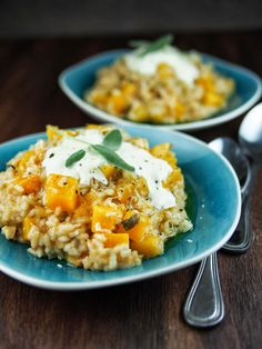 Salted Egg Pumpkin Risotto