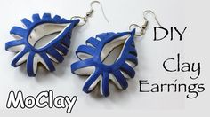 DIY polymer clay earrings tutorial