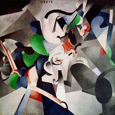 "Francis Picabia ""Udnie"" at Centre Pompidou"