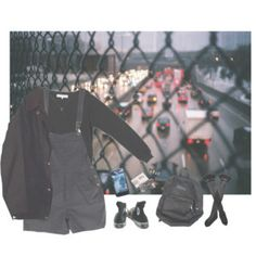 outfit, Polyvore, and pizzamilkshake image
