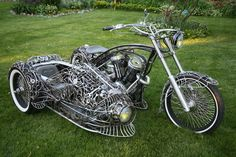 A copper one for me, please. Motorcycle artist: Ron Finch - Photographies by Sherry Kruzman