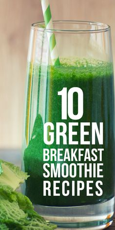 Breakfast being the elemental meal for a day needs to be extremely healthy and nutritious. Given here are 10 mouth-watering green breakfast smoothie recipes that you should try