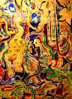 watercolor - Walter Anderson Museum - Ocean Springs, Mississippi