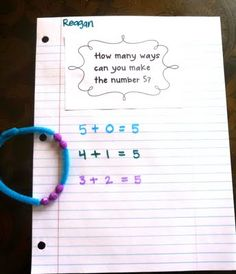 Number bracelets.....I can see this really helping my girls.  :-)