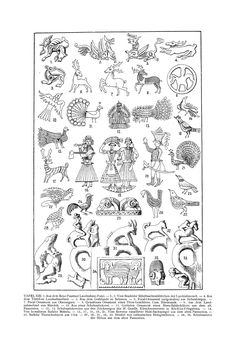 Free Clip Art and Digital Collage Sheet - Magyar Ornament Hungarian Embroidery, Folk Embroidery, Embroidery Stitches, Embroidery Patterns, Ancient Symbols, Ancient Art, Ethnic Patterns, Embroidery Techniques, Simple Art