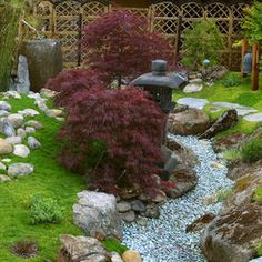Asian Outdoor Design Ideas, Pictures, Remodel and Decor