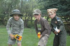 Burke, Ben and Alex