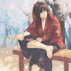 Sakamoto Tatsuma, Studio Ghibli, Samurai, Manga, Cool Stuff, Painting, Fictional Characters, Anime Boys, Otaku