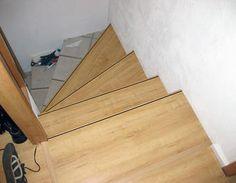 Treppe mit Holz verkleiden