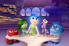 Inside Out. 2015. Walt Disney Pictures Pixar Animation Studios. USA.