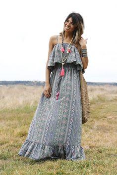www.alicerisesup.com Boho Summer Dresses, Hippie Dresses, Hippie Outfits, Prom Dresses, Boho Gypsy, Hippie Boho, Hippie Style, Boho Style, Estilo Boho