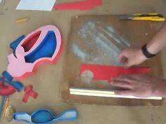 MAQUETAS, DIBUJOS Y DISEÑOS: Maqueta del CORAZÓN Biology Projects, Class Projects, School Projects, Projects For Kids, Study Biology, Biology Teacher, Human Body Unit, Human Body Systems, Water Cycle Project