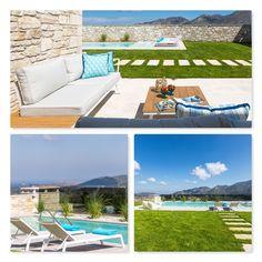 Βίλες στην Κρήτη | Διακοσμητές στη Θεσσαλονίκη Outdoor Furniture, Outdoor Decor, Sun Lounger, Interior Design, Home Decor, Nest Design, Chaise Longue, Home Interior Design, Interior Designing