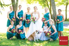 bright, fun colors for summer-- fusia, lime, teal wedding color scheme, wedding color palettes, summer