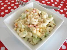 Sweet Amish Macaroni Salad - My FAVORITE pasta salad!  SO good!
