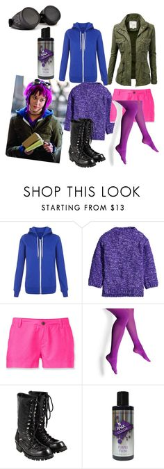 """""""Ramona Flowers Scott Pilgrim vs the world"""" by seetherfan17 ❤ liked on Polyvore featuring J.TOMSON, H&M, The North Face, Steve Madden and Comme des Garçons"""