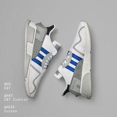 reputable site f7428 0a42f adidas EQT Cushion ADV Adidas Sneaker Nmd, Adidas Sneakers, Shoes Sneakers,  Men s Shoes