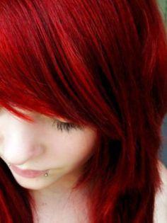 Deep Red Henna Hair