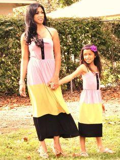 Matching Mommy   Daughter Dresses   facebook.com loverucheboutique Mommy  Daughter Dresses 6f8ab2c37184