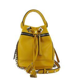 Borsa La Carrie Bag basic secchiello medio yellow 171 e 809