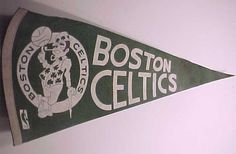 Boston Celtics 1970s pennant