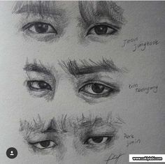 Different nose Drawing Tutorial for Occasional Artistsjk, k.This looks like a picture not a drawingA great artist with a unique and different style ✏️ Phenome Guy Drawing, Drawing Eyes, Drawing Reference, Drawing Sketches, Anatomy Reference, Drawing People, Kpop Drawings, Pencil Drawings, Psy Art