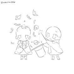 Anime Drawings Sketches, Cute Drawings, Character Drawing, Character Design, Chibi Sketch, Art Base, Drawing Reference Poses, Drawing Base, Drawing Challenge