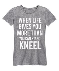 Athletic Heather 'When Life Gives You' Relaxed-Fit Tee