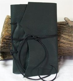GIFT IDEA! Pocket Journal Handmade Diary Travel Notebook Reenactor 6X4 Cowhide Leather