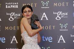 """Premio """"mejor actriz revelación"""".nerea Barros, por 'La isla mínima'. #goya2015 #federopticos #premiados"""