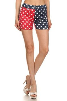 ICONOFLASH Women's USA American Flag Jegging Shorts (Star Spangled Shorts, LXL) ICONOFLASH http://www.amazon.com/dp/B00ZSDTR12/ref=cm_sw_r_pi_dp_9VJ2wb0APBM8Q