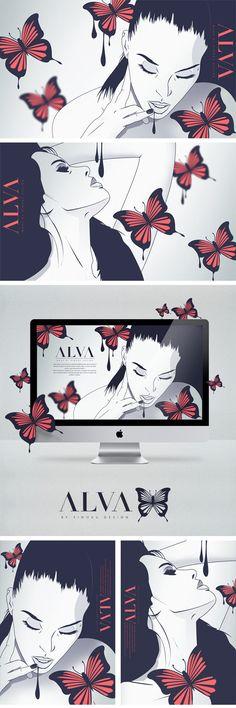 ALVA #illustrations by SiwokuDesign