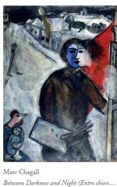 Marc Chagall Entre Chiens et Loups