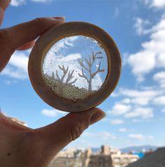 1月2月レッスンスケジュールをブログに更新しております ブログ http://ift.tt/2peR2Vp ステンドグラスクッキー(加工なし) 空が透けて見える透明度にこだわりました