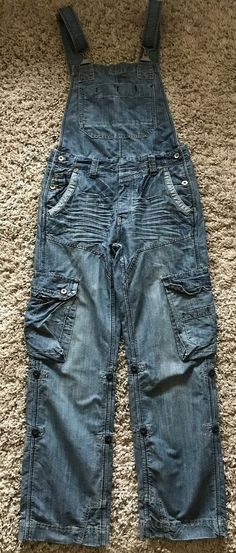 cc62be07 Topman Moto Worker Mens Dungarees Size 30 Regular #fashion #clothing #shoes  #accessories