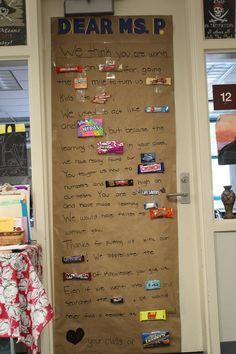 Four Marrs and One Venus: Teacher Appreciation: 20 Ideas for decorating classroom doors