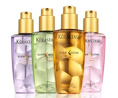 Kerastase's original Elixir Ultime is one of the best hair oils on the market. The light, sweetly fragranced potion is a salon favorite for its ability to coat strands and add luster without the grease.