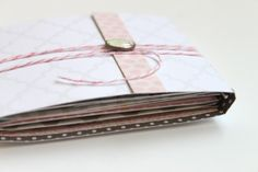diy mini album - full instructions. Stephanie Bryan for MME #minialbum