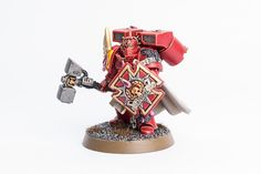 Capitaine Blood Angels vue de face